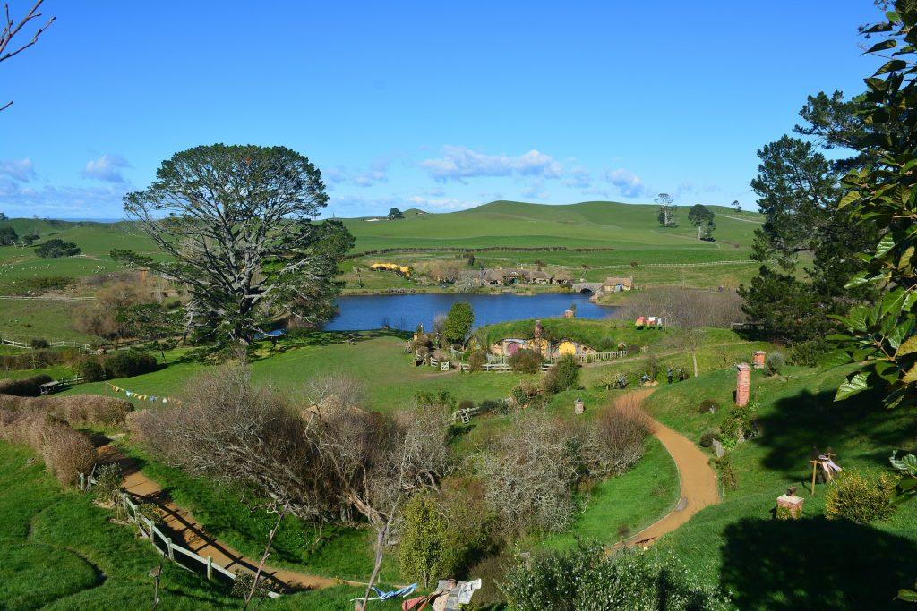 ニュージーランド、ホビットの風景